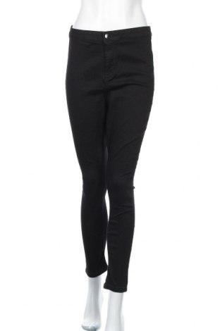 Дамски дънки Dorothy Perkins, Размер L, Цвят Черен, 79% памук, 20% полиестер, 1% еластан, Цена 43,52лв.
