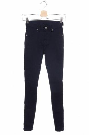 Дамски дънки Dr. Denim, Размер XS, Цвят Син, 65% памук, 30% полиестер, 5% еластан, Цена 34,02лв.