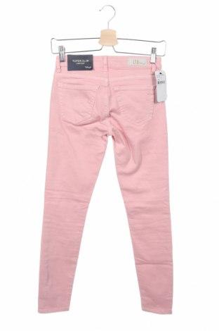 Дамски дънки Ltb, Размер XS, Цвят Розов, 97% памук, 3% еластан, Цена 60,52лв.
