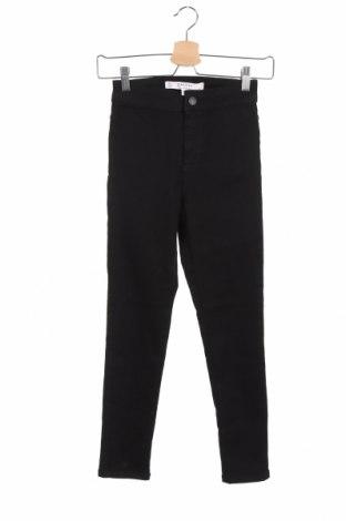 Дамски дънки Miss Selfridge, Размер XS, Цвят Черен, 83% памук, 15% полиестер, 2% еластан, Цена 24,32лв.