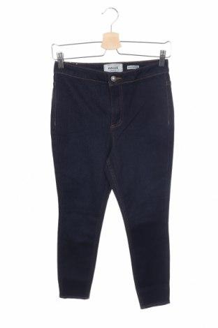 Дамски дънки New Look, Размер XS, Цвят Син, 77% памук, 22% полиестер, 1% еластан, Цена 33,80лв.