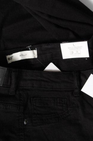 Дамски дънки Perfect Jeans By Gina Tricot, Размер L, Цвят Черен, 98% памук, 2% еластан, Цена 42,00лв.