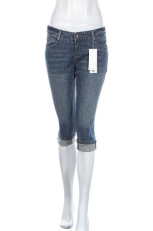 Дамски дънки Tom Tailor, Размер M, Цвят Син, 98% памук, 2% еластан, Цена 60,52лв.