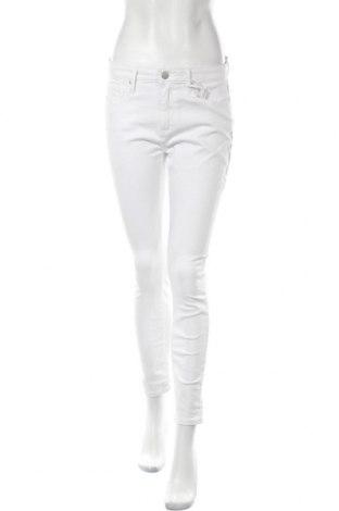 Дамски дънки Tommy Hilfiger, Размер L, Цвят Бял, 98% памук, 2% еластан, Цена 93,87лв.