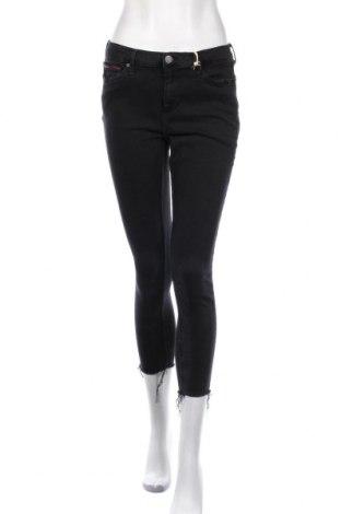 Дамски дънки Tommy Hilfiger, Размер L, Цвят Черен, 92% памук, 8% еластан, Цена 141,75лв.