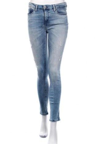 Дамски дънки Tommy Hilfiger, Размер M, Цвят Син, 92% памук, 6% полиестер, 2% еластан, Цена 109,62лв.