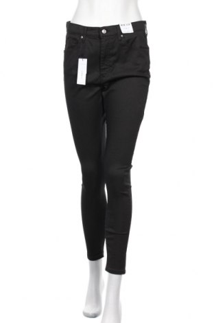 Дамски дънки Topshop, Размер L, Цвят Черен, 65% полиестер, 35% памук, Цена 51,75лв.