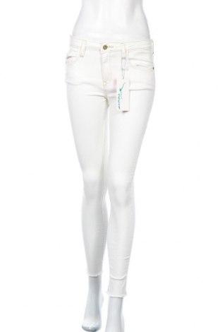 Дамски дънки Twintip, Размер S, Цвят Бял, 65% памук, 29% полиестер, 3% вискоза, 3% еластан, Цена 48,00лв.