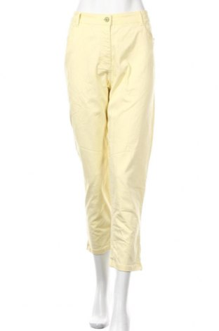 Дамски дънки Your Sixth Sense, Размер L, Цвят Жълт, 98% памук, 2% еластан, Цена 7,61лв.