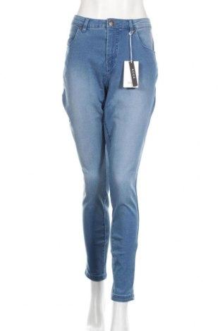 Дамски дънки Zizzi, Размер XL, Цвят Син, 65% памук, 32% полиестер, 3% еластан, Цена 35,36лв.