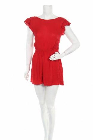 Дамски гащеризон Dorothy Perkins, Размер M, Цвят Червен, Вискоза, Цена 24,30лв.