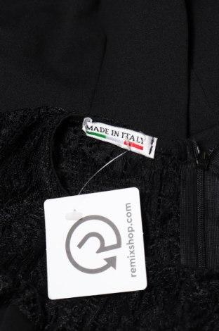 Дамски гащеризон Made In Italy, Размер S, Цвят Черен, 95% полиестер, 5% еластан, Цена 13,34лв.