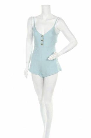 Γυναικεία σαλοπέτα Pull&Bear, Μέγεθος XXS, Χρώμα Μπλέ, Βαμβάκι, Τιμή 14,74€