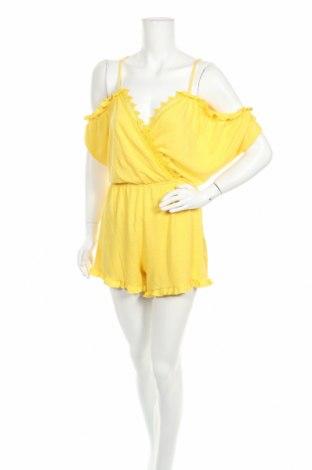Γυναικεία σαλοπέτα Pull&Bear, Μέγεθος M, Χρώμα Κίτρινο, Πολυεστέρας, Τιμή 13,04€