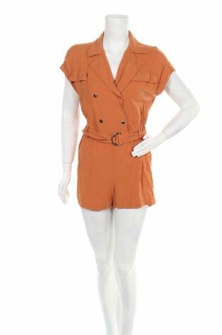 Γυναικεία σαλοπέτα Pull&Bear, Μέγεθος M, Χρώμα Πορτοκαλί, 67% βισκόζη, 33% λινό, Τιμή 11,86€