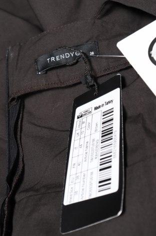 Дамски гащеризон Trendyol, Размер M, Цвят Черен, 100% памук, Цена 17,25лв.