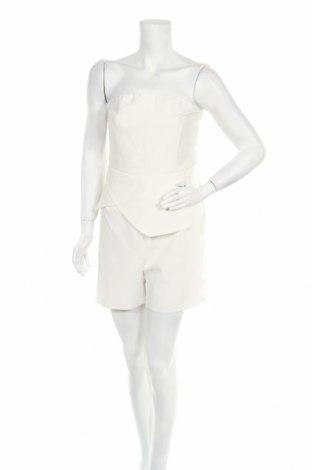 Дамски гащеризон Unique 21, Размер L, Цвят Бял, 95% полиестер, 5% еластан, Цена 28,00лв.