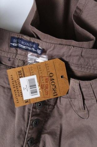 Γυναικείο κοντό παντελόνι Best Mountain, Μέγεθος XL, Χρώμα Πράσινο, 100% βαμβάκι, Τιμή 17,01€