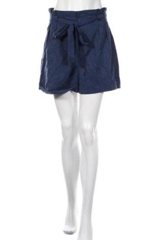 Γυναικείο κοντό παντελόνι Club Monaco, Μέγεθος M, Χρώμα Μπλέ, 79% lyocell, 21% λινό, Τιμή 25,23€