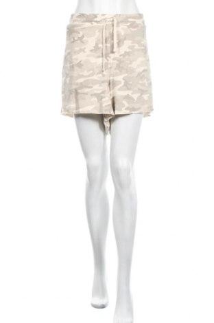 Дамски къс панталон Edited, Размер 3XL, Цвят Бежов, 85% памук, 15% еластан, Цена 22,00лв.
