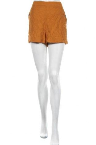 Дамски къс панталон Even&Odd, Размер L, Цвят Жълт, 80% вискоза, 20% полиамид, Цена 24,36лв.