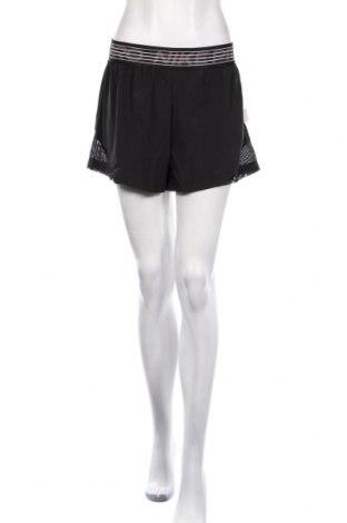 Дамски къс панталон Nike, Размер M, Цвят Черен, 100% полиестер, Цена 32,76лв.