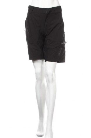 Дамски къс панталон Protective, Размер L, Цвят Черен, 92% полиестер, 8% еластан, Цена 32,13лв.