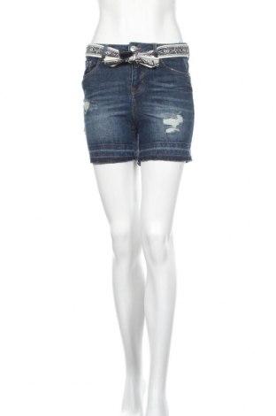 Γυναικείο κοντό παντελόνι Tom Tailor, Μέγεθος XS, Χρώμα Μπλέ, 99% βαμβάκι, 1% ελαστάνη, Τιμή 10,64€