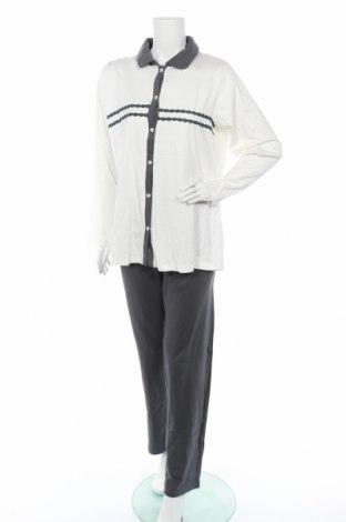 Дамски комплект Canat, Размер XXL, Цвят Бял, Памук, Цена 123,00лв.