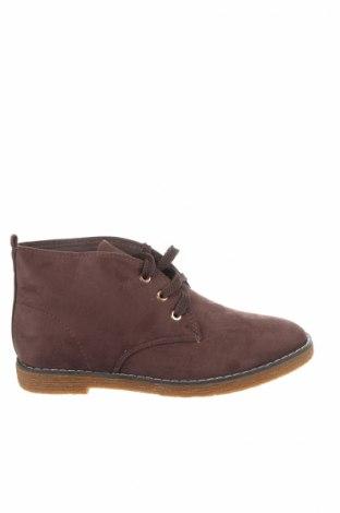Γυναικεία παπούτσια Manoukian, Μέγεθος 39, Χρώμα Καφέ, Κλωστοϋφαντουργικά προϊόντα, Τιμή 39,20€