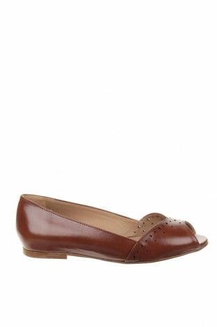 Γυναικεία παπούτσια Minelli, Μέγεθος 35, Χρώμα Καφέ, Γνήσιο δέρμα, Τιμή 35,58€