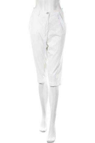 Дамски панталон Brax Golf, Размер XL, Цвят Бял, 86% полиестер, 14% еластан, Цена 68,37лв.