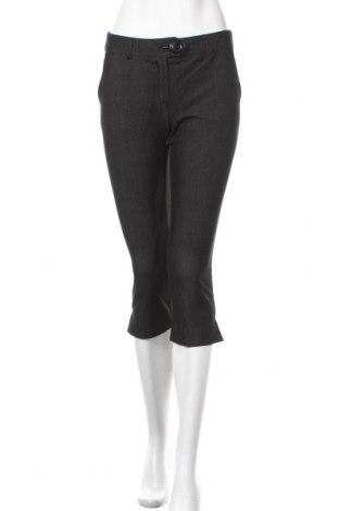 Дамски панталон KappAhl, Размер XS, Цвят Сив, 74% полиестер, 21% вискоза, 5% еластан, Цена 7,35лв.