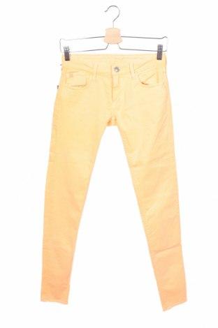 Дамски панталон Le Temps Des Cerises, Размер XS, Цвят Оранжев, 98% памук, 2% еластан, Цена 21,35лв.