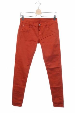 Γυναικείο παντελόνι Le Temps Des Cerises, Μέγεθος S, Χρώμα Πορτοκαλί, 97% βαμβάκι, 3% ελαστάνη, Τιμή 18,56€