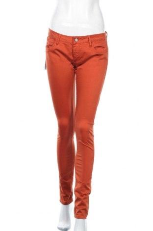 Дамски панталон Le Temps Des Cerises, Размер M, Цвят Оранжев, 98% памук, 2% еластан, Цена 13,22лв.