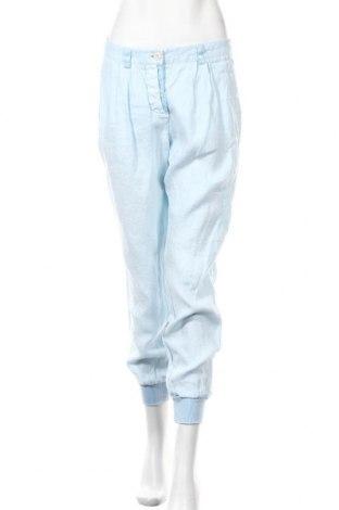 Дамски панталон Marc Aurel, Размер S, Цвят Син, Лен, Цена 89,40лв.