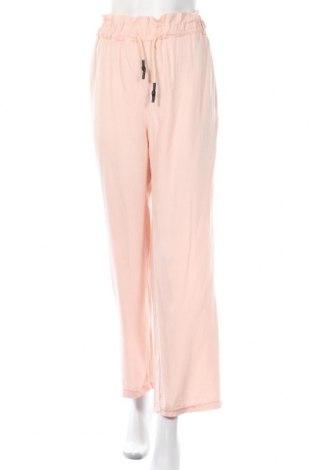 Γυναικείο παντελόνι Na-Kd, Μέγεθος L, Χρώμα Ρόζ , Βισκόζη, Τιμή 5,69€