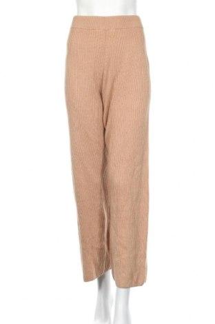 Дамски панталон Oysho, Размер S, Цвят Кафяв, 53% памук, 26% акрил, 16% полиамид, 5% вълна, Цена 41,60лв.