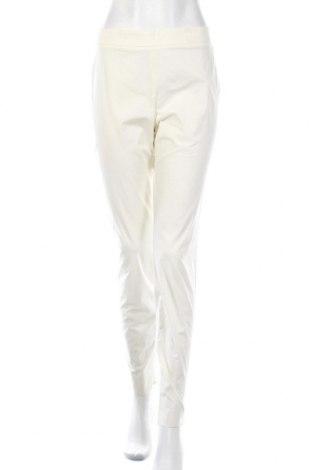 Γυναικείο παντελόνι Red Valentino, Μέγεθος L, Χρώμα Λευκό, 96% βαμβάκι, 4% ελαστάνη, Τιμή 78,57€