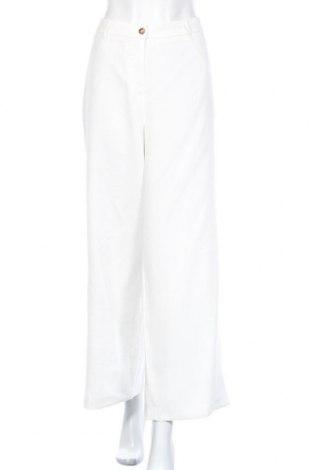 Γυναικείο παντελόνι Soya Concept, Μέγεθος XL, Χρώμα Λευκό, 91% βισκόζη, 9% πολυεστέρας, Τιμή 20,93€