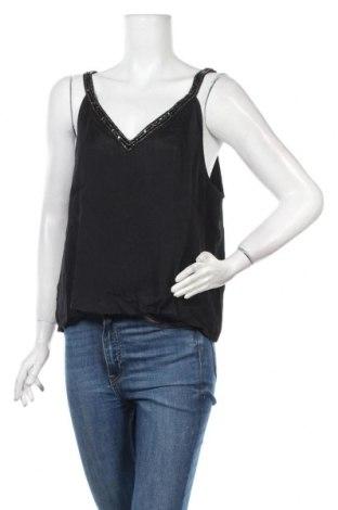 Γυναικείο αμάνικο μπλουζάκι About You, Μέγεθος XL, Χρώμα Μαύρο, Βισκόζη, Τιμή 4,91€