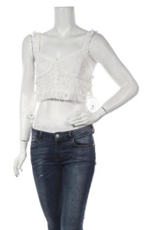 Γυναικείο αμάνικο μπλουζάκι Bik Bok, Μέγεθος S, Χρώμα Λευκό, Πολυαμίδη, Τιμή 7,09€