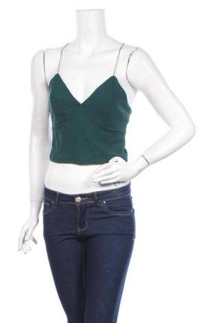 Γυναικείο αμάνικο μπλουζάκι Bik Bok, Μέγεθος L, Χρώμα Πράσινο, 72% βισκόζη, 25% πολυαμίδη, 3% ελαστάνη, Τιμή 5,99€