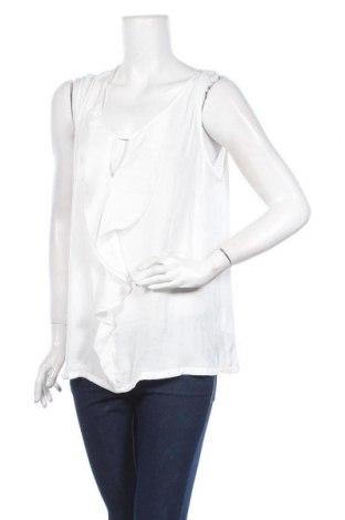 Γυναικείο αμάνικο μπλουζάκι Cream, Μέγεθος XL, Χρώμα Λευκό, Πολυεστέρας, Τιμή 11,74€