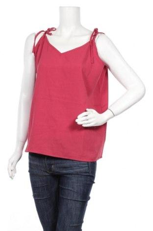 Γυναικείο αμάνικο μπλουζάκι Fashion Union, Μέγεθος XL, Χρώμα Ρόζ , Πολυεστέρας, Τιμή 7,09€