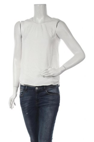 Γυναικείο αμάνικο μπλουζάκι Jacqueline De Yong, Μέγεθος XS, Χρώμα Λευκό, Πολυεστέρας, Τιμή 8,25€