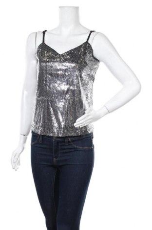 Γυναικείο αμάνικο μπλουζάκι Jdy, Μέγεθος S, Χρώμα Γκρί, Πολυεστέρας, Τιμή 7,05€