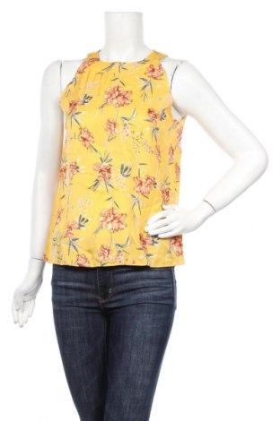 Γυναικείο αμάνικο μπλουζάκι Mint & Berry, Μέγεθος S, Χρώμα Κίτρινο, Πολυεστέρας, Τιμή 5,76€