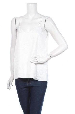 Γυναικείο αμάνικο μπλουζάκι River Island, Μέγεθος M, Χρώμα Λευκό, Πολυεστέρας, Τιμή 6,43€